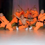 Shaolin monks put on the best show