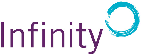 The new Infinity logo